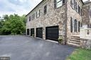4-Car Garage with New Garage Doors & Motors - 17814 RUNNING COLT PL, LEESBURG