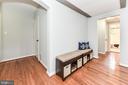 Open floorplan - 1903 KEY BLVD #11545, ARLINGTON