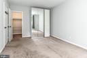 Walk-in closet - 1903 KEY BLVD #11545, ARLINGTON