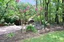 Front yard bench - 11137 GLADE DR, RESTON