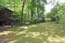 Side yard - 11137 GLADE DR, RESTON