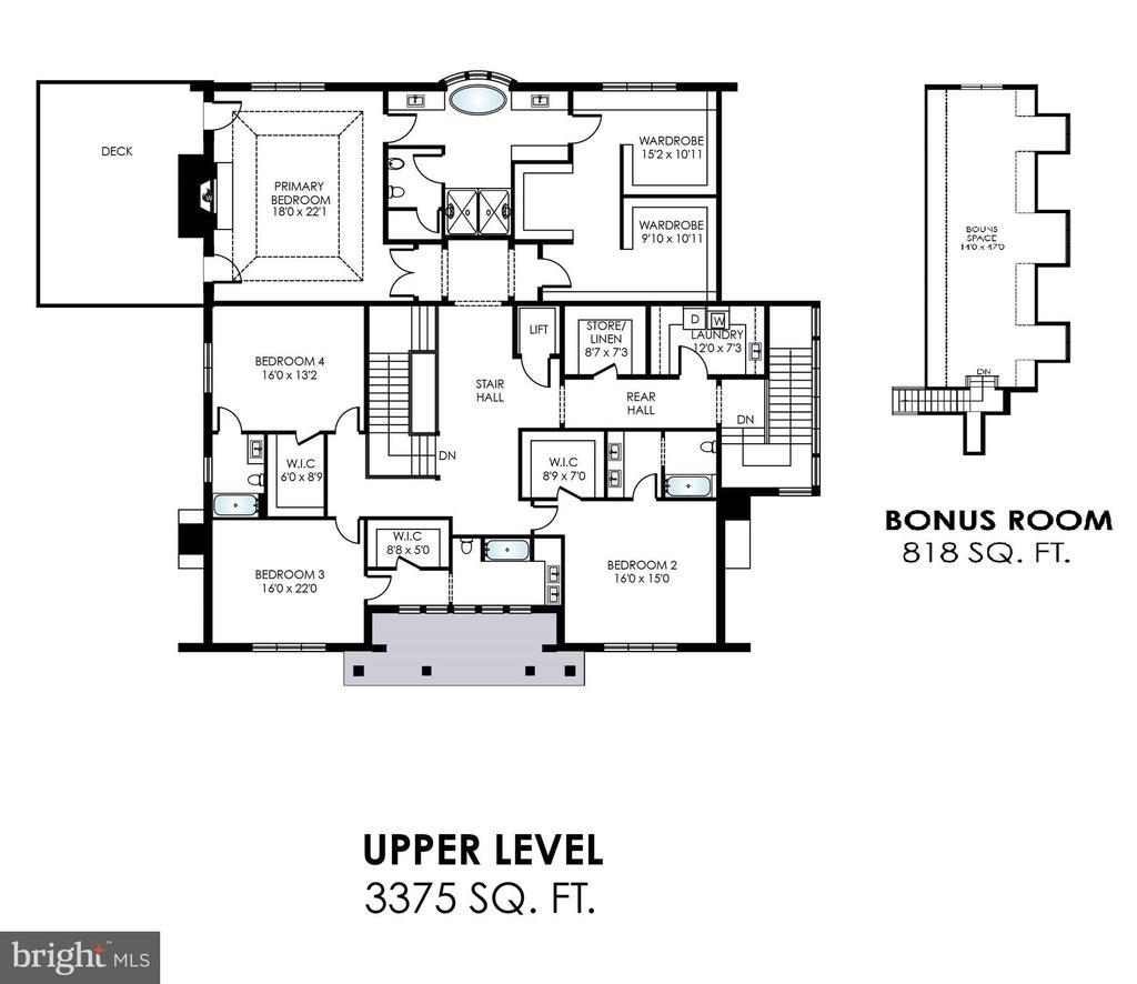 Upper Level - 7008 BENJAMIN ST, MCLEAN