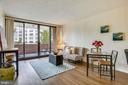 Airy and open layout - 1001 N RANDOLPH ST #417, ARLINGTON
