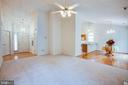Open floor plan - 11717 COLLINWOOD CT, FREDERICKSBURG