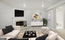 Virtually Staged  Basement Family Room - 43473 PLANTATION TER, ASHBURN