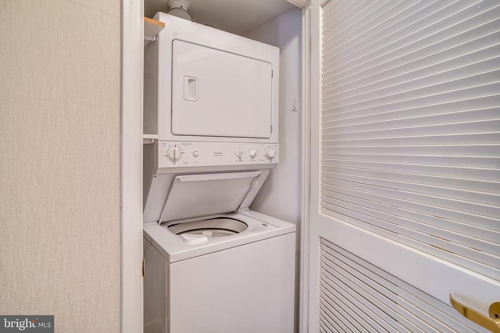 Washer &  Dryer - 616 E ST NW #602, WASHINGTON