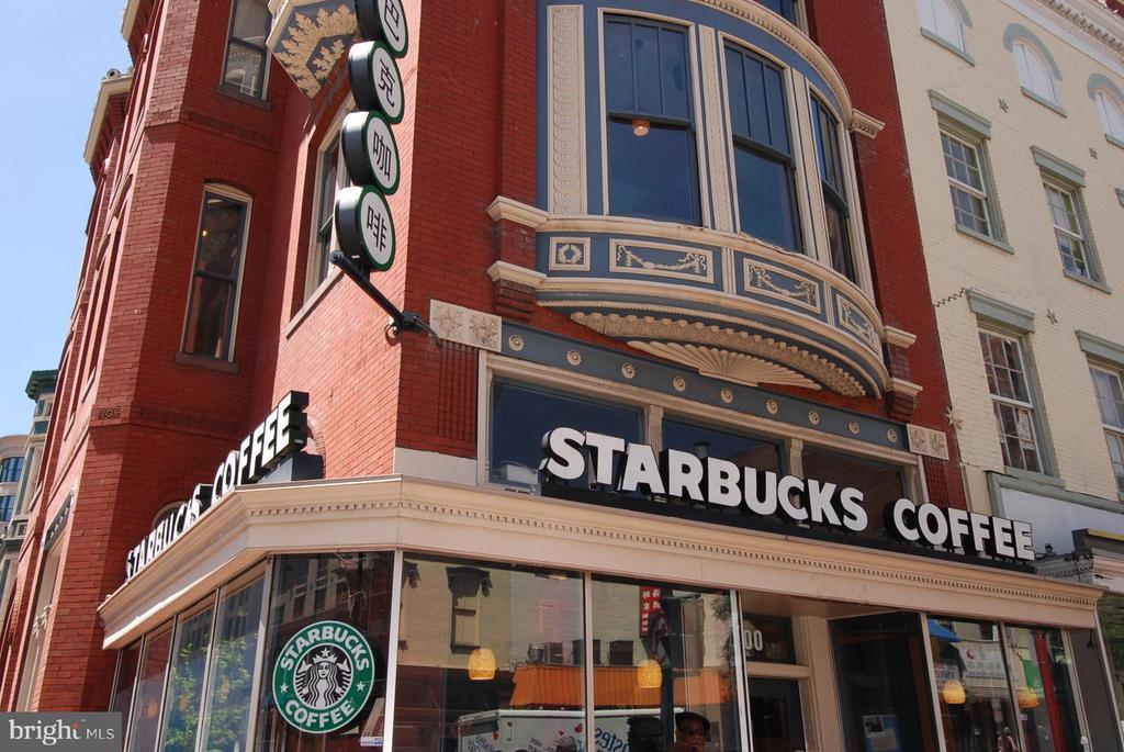 Starbucks Right on the Corner - 616 E ST NW #602, WASHINGTON