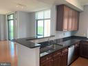 Kitchen and bar - 11700 OLD GEORGETOWN RD #810, NORTH BETHESDA