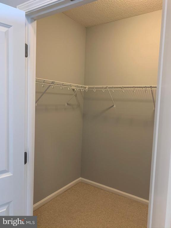 Walk-in closet - 11700 OLD GEORGETOWN RD #810, NORTH BETHESDA