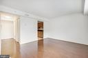 Living Room View 6 - 3601 NW 38TH ST NW #302, WASHINGTON