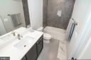 Lower level bath - 9524 LEEMAY ST, VIENNA
