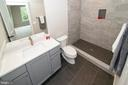 Shower  en-suite in secondary Owners - 9524 LEEMAY ST, VIENNA