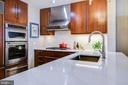 New quartz counters and backsplash - 2001 15TH ST N #1213, ARLINGTON