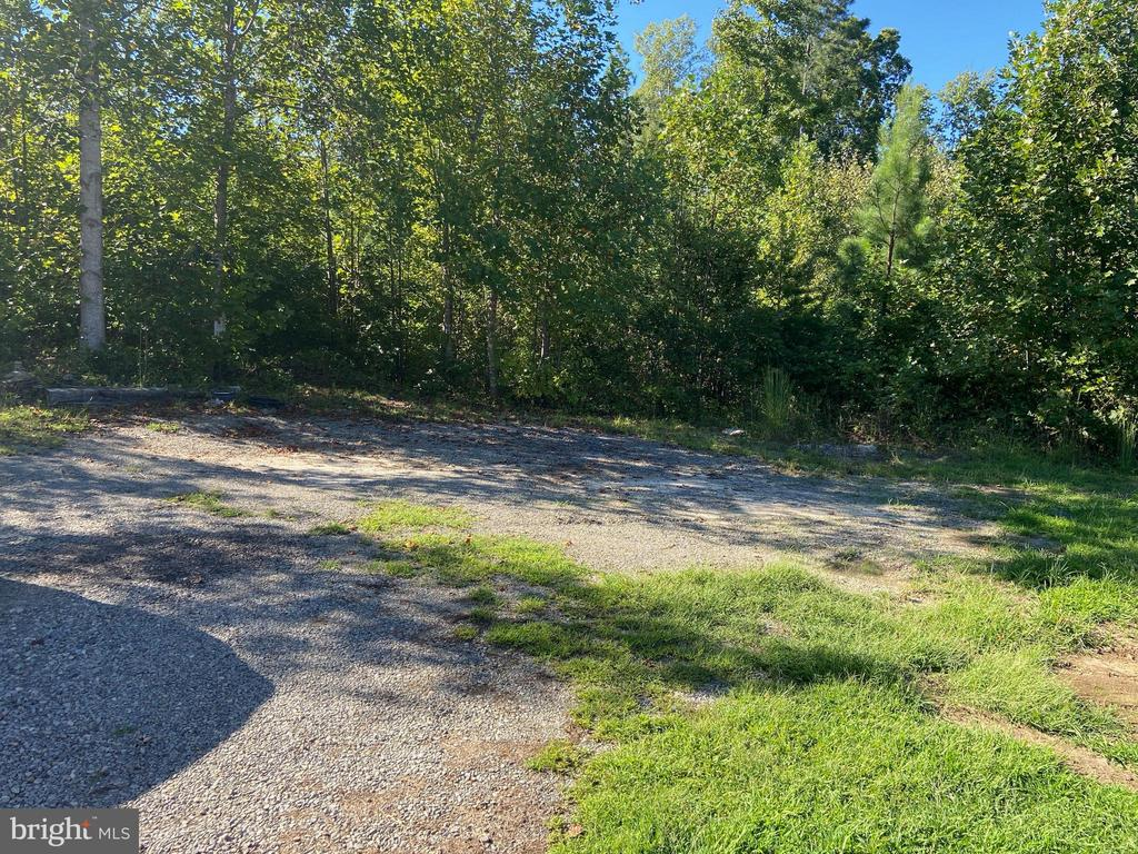 Rear yard - extra parking space - 5334 DICKERSON RD, PARTLOW