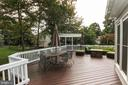 Large deck! - 21211 EDGEWOOD CT, STERLING