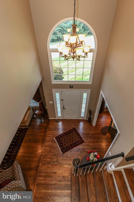 2 story foyer - 21211 EDGEWOOD CT, STERLING