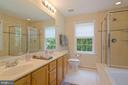 separate tub and shower, double sinks; master bath - 30831 PORTOBAGO TRL, PORT ROYAL
