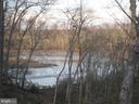 Winter view of the creek from the deck - 30831 PORTOBAGO TRL, PORT ROYAL
