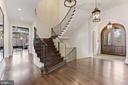 Elegant Foyer - 906 TURKEY RUN RD, MCLEAN