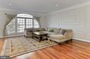 Lots of natural sunlight in front living room - 3441 25TH CT S, ARLINGTON