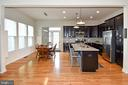 Large Kitchen Island - 2522 SWEET CLOVER CT, DUMFRIES
