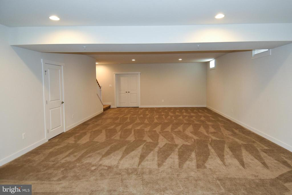 Option to finish media room - 2522 SWEET CLOVER CT, DUMFRIES