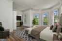 Master Bedroom - 1312 30TH ST NW, WASHINGTON