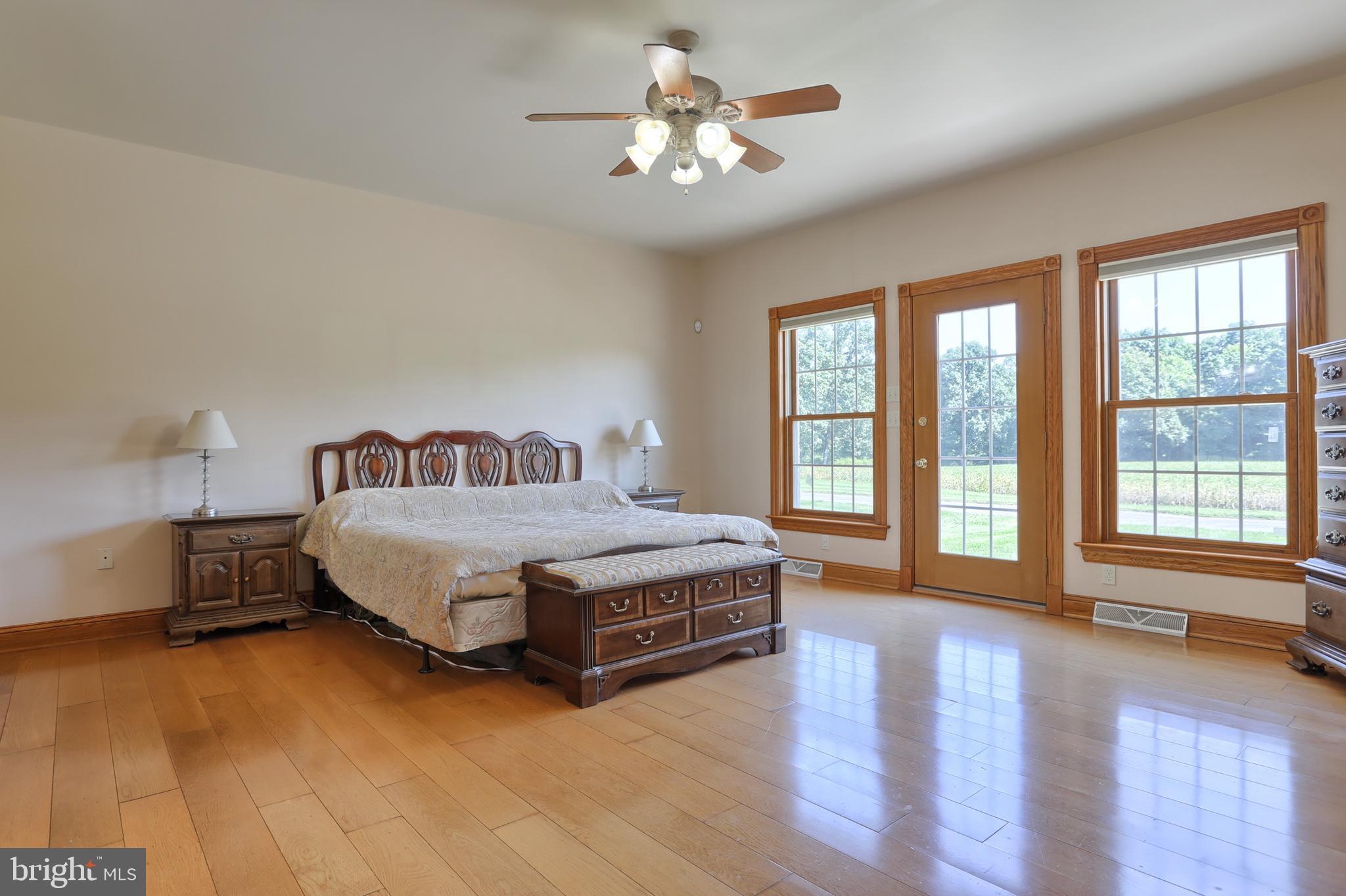 1st Floor Master Bedroom view 2