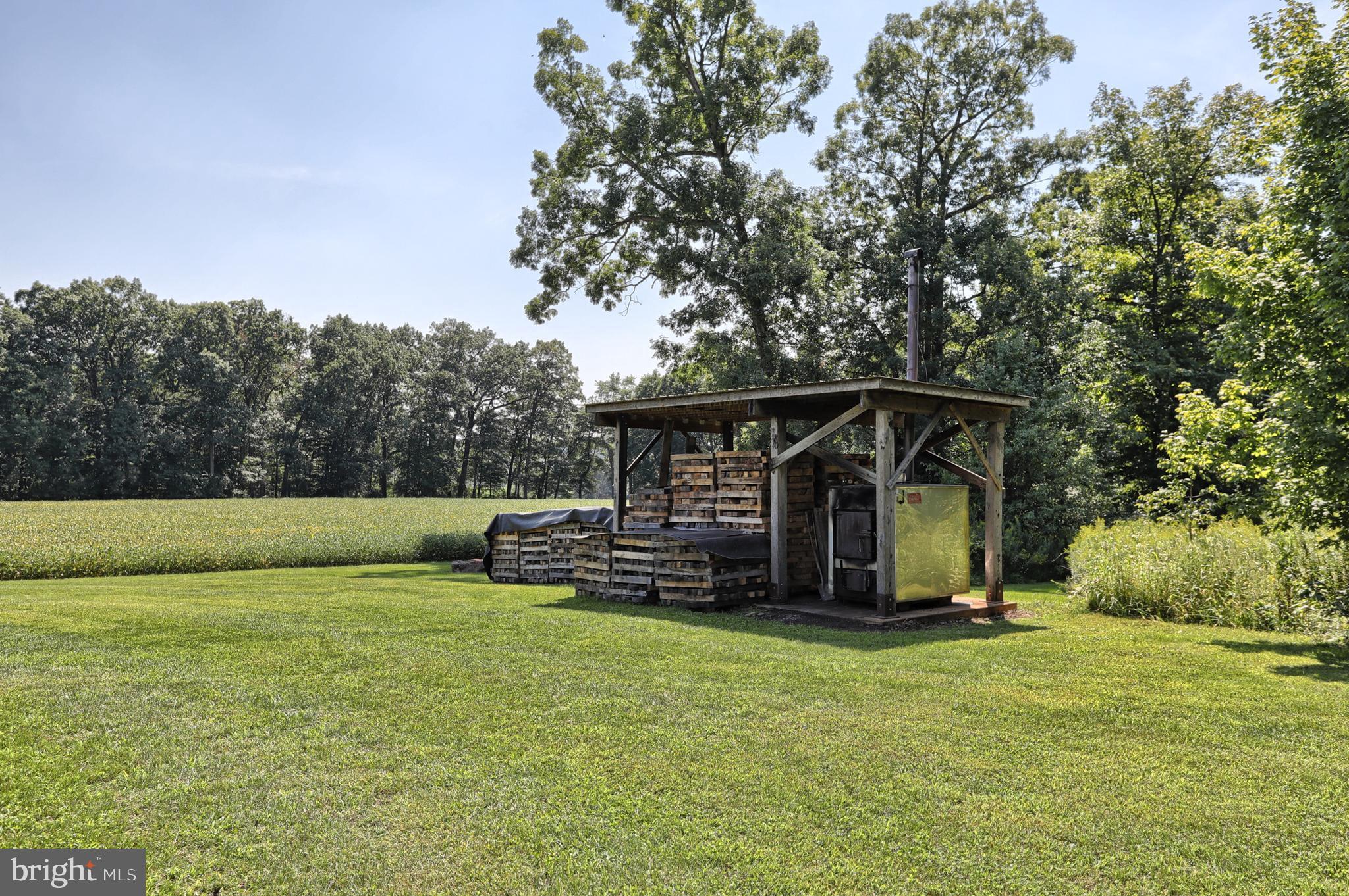 Wood pavillion