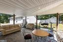 Rear Covered Patio - 500 ROLLING RIDGE LN, WINCHESTER