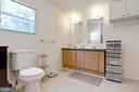 Primary Bathroom with New Shower - 500 ROLLING RIDGE LN, WINCHESTER