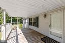 Covered Front Porch - 500 ROLLING RIDGE LN, WINCHESTER