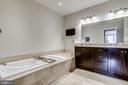 Primary Bath - 1418 N RHODES ST #B414, ARLINGTON