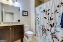 Second bathroom - 1418 N RHODES ST #B414, ARLINGTON