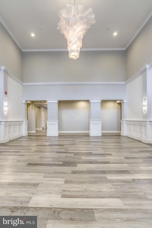 Newly renovated main lobby - 1418 N RHODES ST #B414, ARLINGTON