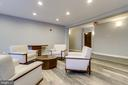 4th floor newly renovated lobby - 1418 N RHODES ST #B414, ARLINGTON