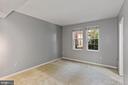 Bedroom easily fits queen or king bed. - 1801 KEY BLVD #10-506, ARLINGTON
