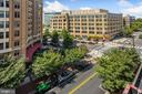 Daytime view from balcony. - 1205 N GARFIELD ST #608, ARLINGTON