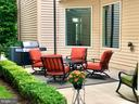 2ND VIEW OF THE PATIO - 44533 NEPONSET ST, ASHBURN
