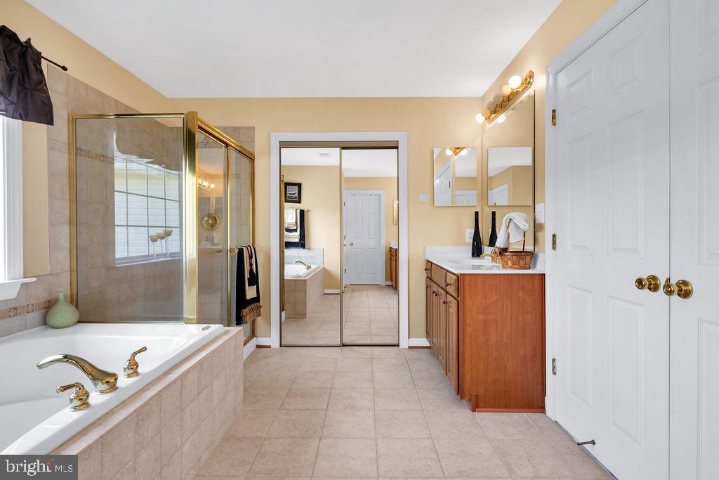 Master Bath - 14079 MERLOT LN, PURCELLVILLE