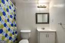 Bathroom downstairs - 8510 GENERAL WAY, MANASSAS PARK