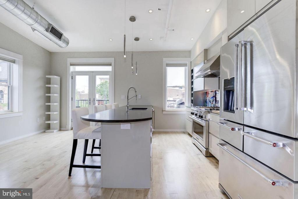 Penthouse Kitchen - 1620 15TH ST NW, WASHINGTON