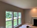 Large windows look on to private backyard - 76 BRENTSMILL DR, STAFFORD