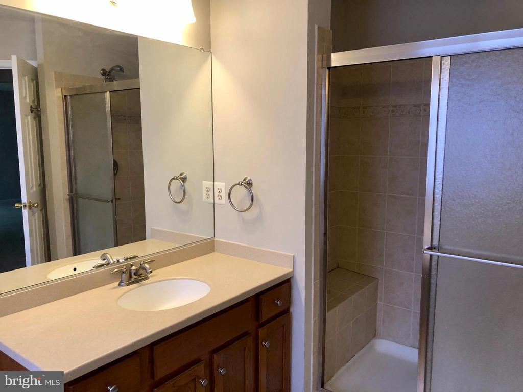 his and her vanities and walk in shower - 76 BRENTSMILL DR, STAFFORD