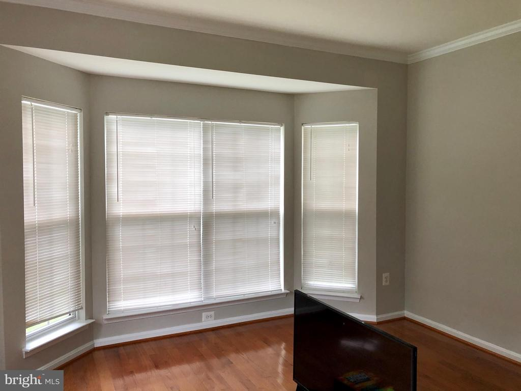Large bay windows in Living and Dining Room - 76 BRENTSMILL DR, STAFFORD