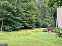 Private back yard (no houses behind you!) - 76 BRENTSMILL DR, STAFFORD