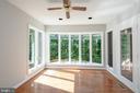 Light and Bright Western Facing Sunroom Addition - 12984 PINTAIL RD, WOODBRIDGE