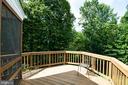 Plenty of Deck Space for Grilling & Enjoying Views - 12984 PINTAIL RD, WOODBRIDGE