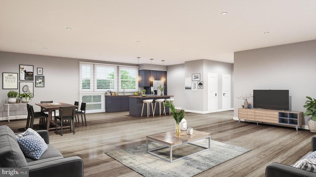 Interior unit rendering for likeness only. - 2827 24TH RD S, ARLINGTON