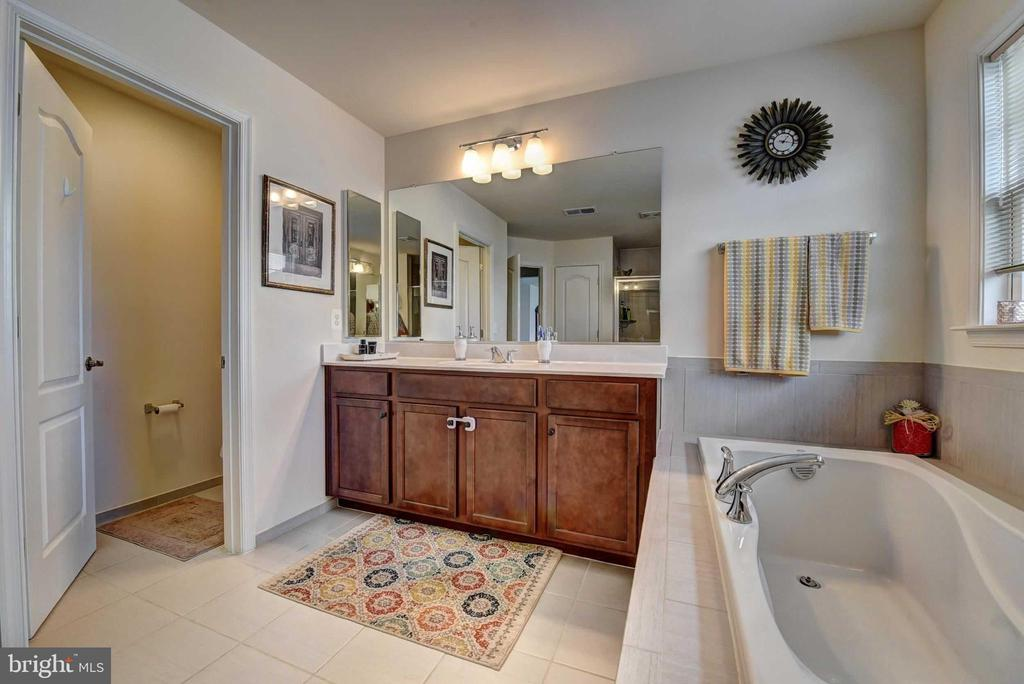 Master Bath with Jacuzzi/Soak Tub - 42340 ABNEY WOOD DR, CHANTILLY